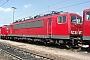 """LEW 16742 - DB Cargo """"155 151-4"""" 02.08.2003 - Mannheim, BetriebswerkErnst Lauer"""