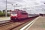 """LEW 16742 - DB Cargo """"155 151-4"""" 08.07.2000 - Berlin-Schönefeld, Bahnhof FlughafenHeiko Müller"""
