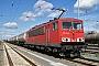 """LEW 16743 - DB Schenker """"155 152-2"""" 07.05.2015 - Lutherstadt Wittenberg-PiesteritzArchiv www.br143.de"""