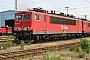 """LEW 16745 - Railion """"155 154-8"""" 20.05.2004 - Mannheim, BetriebswerkErnst Lauer"""