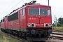 """LEW 16745 - Railion """"155 154-8"""" 14.09.2008 - Wustermark, BetriebswerkHeiko Müller"""