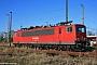 """LEW 16749 - DB Schenker """"155 158-9"""" 15.04.2011 - StralsundPaul Tabbert"""
