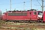 """LEW 16750 - Railion """"155 159-7"""" 07.12.2003 - Mannheim, BetriebswerkErnst Lauer"""