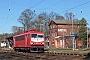 """LEW 16750 - WFL """"155 159-7"""" 27.03.2017 - Wiesenburg (Mark)Johannes Mühle"""