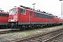 """LEW 16751 - Railion """"155 160-5"""" 13.02.2005 - Mannheim, BetriebswerkErnst Lauer"""