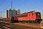 """LEW 16754 - DB Schenker """"155 163-9"""" 19.07.2010 - StralsundPaul Tabbert"""