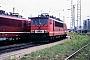 """LEW 17191 - DR """"155 235-5"""" 15.08.1992 - Halle (Saale), Betriebswerk PErnst Lauer"""