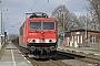 """LEW 17191 - DB Schenker """"155 235-5"""" 23.03.2010 - Groß KiesowAndreas Görs"""