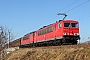 """LEW 17192 - DB Schenker """"155 236-3"""" 13.02.2015 - Leipzig-TheklaDaniel Berg"""