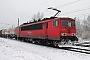 """LEW 17193 - DB Schenker """"155 237-1"""" 22.01.2014 - Leipzig-TheklaAlex Huber"""