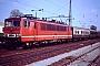 """LEW 17196 - DR """"155 240-5"""" 12.03.1991 - Cottbus, HauptbahnhofHelmuth Cohrs"""