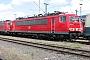"""LEW 17196 - Railion """"155 240-5"""" 31.05.2004 - Mannheim, BetriebswerkErnst Lauer"""