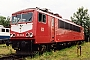 "LEW 17511 - DB Cargo ""155 252-0"" 04.07.1999 - Leipzig-Engelsdorf, BetriebswerkOliver Wadewitz"