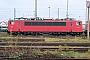 """LEW 17511 - Railion """"155 252-0"""" 04.12.2004 - Mannheim, BetriebswerkErnst Lauer"""