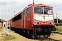 """LEW 17512 - DB Cargo """"155 253-8"""" 22.07.1999 - Senftenberg, BetriebswerkOliver Wadewitz"""