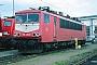 """LEW 17512 - DB Cargo """"155 253-8"""" 15.04.2000 - Mannheim, BetriebswerkErnst Lauer"""