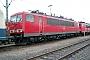 """LEW 17512 - Railion """"155 253-8"""" 04.04.2004 - Mannheim, BetriebswerkErnst Lauer"""