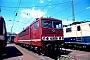 """LEW 17524 - DB AG """"155 250-4"""" 21.07.1996 - Mannheim, BetriebswerkErnst Lauer"""
