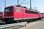 """LEW 17524 - Railion """"155 250-4"""" 28.03.2004 - Mannheim, BetriebswerkErnst Lauer"""