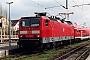 "LEW 17737 - DB Regio""143 080-0"" 05.03.2002 - Rostock, HauptbahnhofOliver Wadewitz"