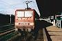 """LEW 17737 - DB Regio """"143 080-0"""" 03.01.2001 - Stralsund, HauptbahnhofWolfram Wätzold"""