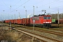 "LEW 17857 - Railion ""155 167-0"" 25.01.2008 - Rostock-Seehafen