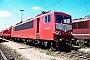 """LEW 17868 - DB AG """"155 178-7"""" 21.07.1996 - Mannheim, BetriebswerkErnst Lauer"""