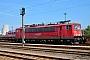 """LEW 17871 - DB Schenker """"155 181-1"""" 02.08.2015 - Rostock-SeehafenAndreas Görs"""