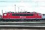 """LEW 17873 - Railion """"155 183-7"""" 18.04.2004 - Mannheim, BetriebswerkErnst Lauer"""