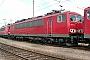 """LEW 17874 - Railion """"155 184-5"""" 09.04.2004 - Mannheim, BetriebswerkErnst Lauer"""