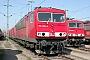"""LEW 17875 - Railion """"155 029-2"""" 28.03.2004 - Mannheim, BetriebswerkErnst Lauer"""