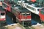 """LEW 17875 - DB AG """"155 185-2"""" 01.02.1998 - Mannheim, BetriebswerkErnst Lauer"""