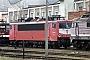 """LEW 17876 - DB Cargo """"155 186-0"""" 17.02.2001 - Cottbus, AusbesserungswerkOliver Wadewitz"""