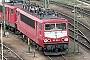 """LEW 18179 - Railion """"155 194-4"""" 09.04.2004 - Mannheim, BetriebswerkErnst Lauer"""