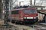 """LEW 18185 - DB Cargo """"155 200-9"""" 17.02.2001 - Cottbus, AusbesserungswerkOliver Wadewitz"""