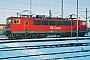 """LEW 18187 - DB Cargo """"155 202-5"""" 05.01.2002 - Mannheim, RangierbahnhofErnst Lauer"""