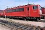 """LEW 18188 - DB AG """"155 203-3"""" 03.10.1997 - Mannheim, BetriebswerkErnst Lauer"""