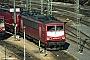 """LEW 18190 - DB AG """"155 205-8"""" 03.02.1997 - Mannheim, BetriebswerkErnst Lauer"""