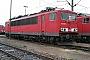 """LEW 18191 - Railion """"155 206-6"""" 03.10.2005 - Mannheim, BetriebswerkErnst Lauer"""
