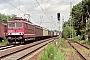 """LEW 18191 - DB Cargo """"155 206-6"""" 09.08.1999 - Walldorf (Hessen)Robert Steckenreiter"""