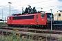 """LEW 18196 - DB Cargo """"155 211-6"""" 15.08.1999 - Mannheim, BetriebswerkErnst Lauer"""
