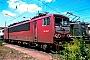 """LEW 18200 - DB AG """"155 215-7"""" 21.07.1996 - Mannheim, BetriebswerkErnst Lauer"""