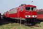 "LEW 18203 - DB Cargo ""155 218-1"" 12.04.2003 - Leipzig-Engelsdorf, BetriebswerkOliver Wadewitz"