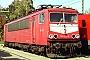 """LEW 18206 - Railion """"155 221-5"""" 19.10.2003 - Köln-Porz, Betriebshof GrembergAndreas Kabelitz"""