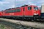 """LEW 18207 - DB Cargo """"155 222-3"""" 02.09.2001 - Mannheim, BetriebswerkErnst Lauer"""