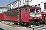 """LEW 18208 - DB Cargo """"155 223-1"""" 13.04.2003 - Mannheim, BetriebswerkErnst Lauer"""
