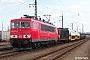 """LEW 18209 - DB Schenker """"155 224-9"""" 25.03.2009 - Dresden-FriedrichstadtStefan Sachs"""