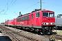 """LEW 18212 - DB Cargo """"155 227-2"""" 13.07.2003 - Mainz-Bischofsheim, BetriebswerkRalf Lauer"""