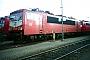 """LEW 18213 - DB AG """"155 228-0"""" 03.03.1996 - Mannheim, BetriebswerkErnst Lauer"""