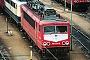 """LEW 18214 - DB AG """"155 229-8"""" 06.12.1998 - Mannheim, BetriebswerkErnst Lauer"""